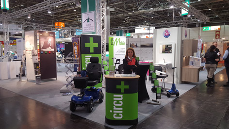 Messe rehacare GGT-Stand